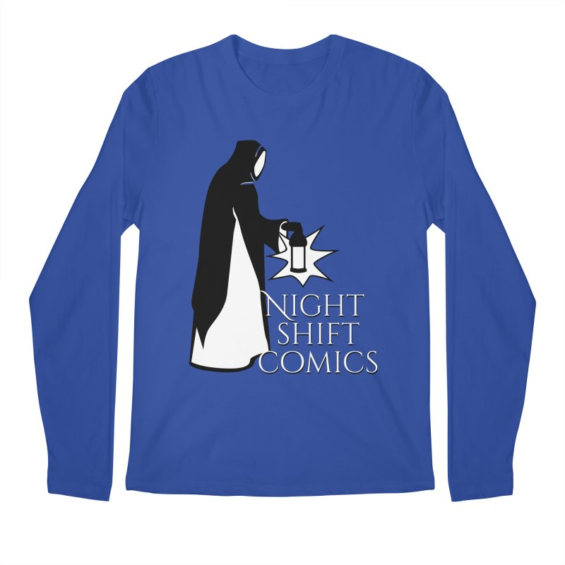 Night Shift Comics Logo Men's Regular Longsleeve T-Shirt by Night Shift Comics Shop