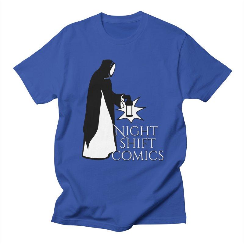 Night Shift Comics Logo Men's Regular T-Shirt by Night Shift Comics Shop