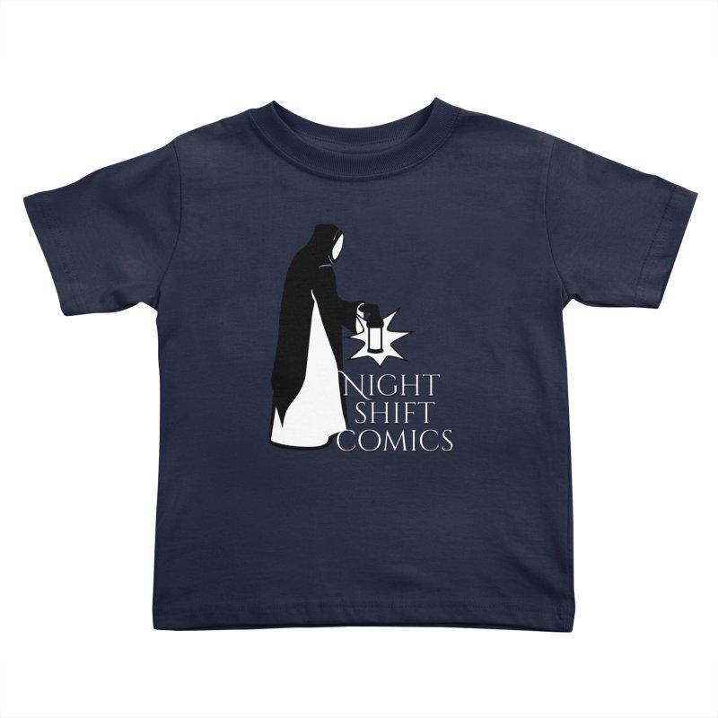 Night Shift Comics Logo Kids Toddler T-Shirt by Night Shift Comics Shop