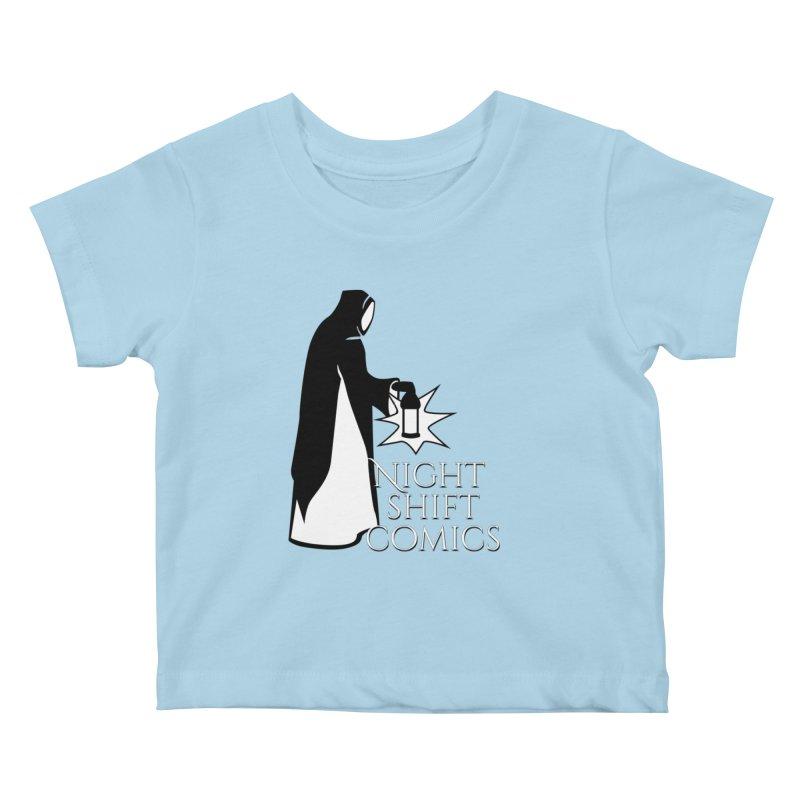 Night Shift Comics Logo Kids Baby T-Shirt by Night Shift Comics Shop