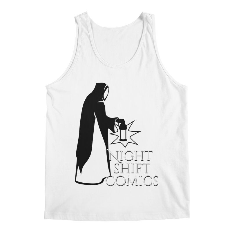 Night Shift Comics Logo Men's Regular Tank by Night Shift Comics Shop