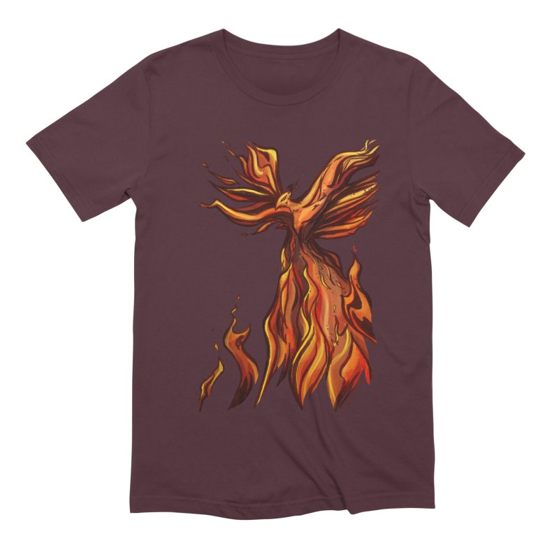 Phoenix Men's Extra Soft T-Shirt by Night Shift Comics Shop