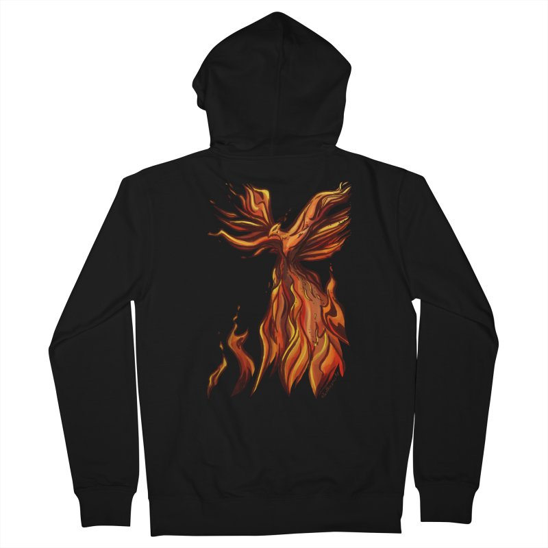 Phoenix Men's Zip-Up Hoody by Night Shift Comics Shop