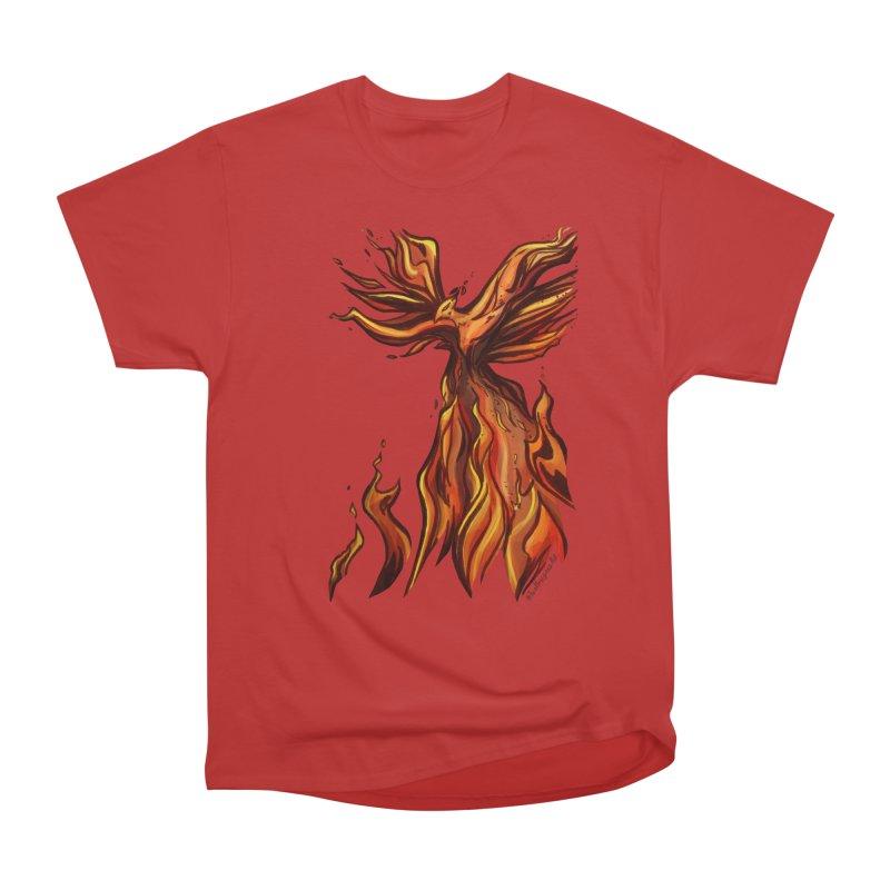 Phoenix Men's Heavyweight T-Shirt by Night Shift Comics Shop