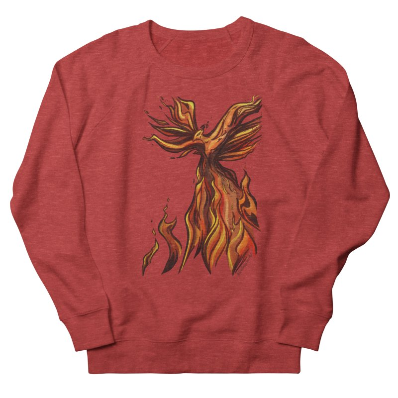 Phoenix Women's French Terry Sweatshirt by Night Shift Comics Shop