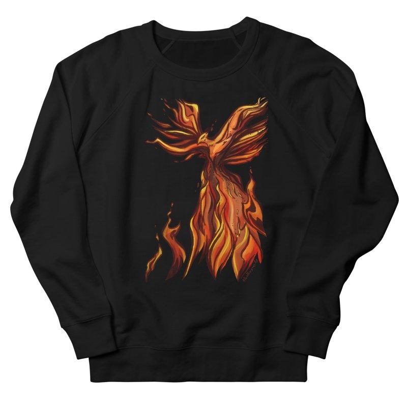 Phoenix Women's French Terry Sweatshirt by Night Shift Comics Shop