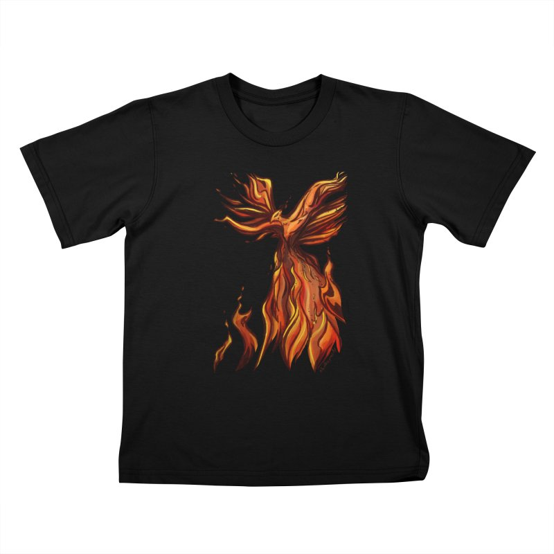 Phoenix Kids T-Shirt by Night Shift Comics Shop