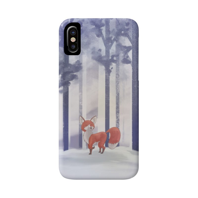 Winter Fox Accessories Phone Case by Night Shift Comics Shop