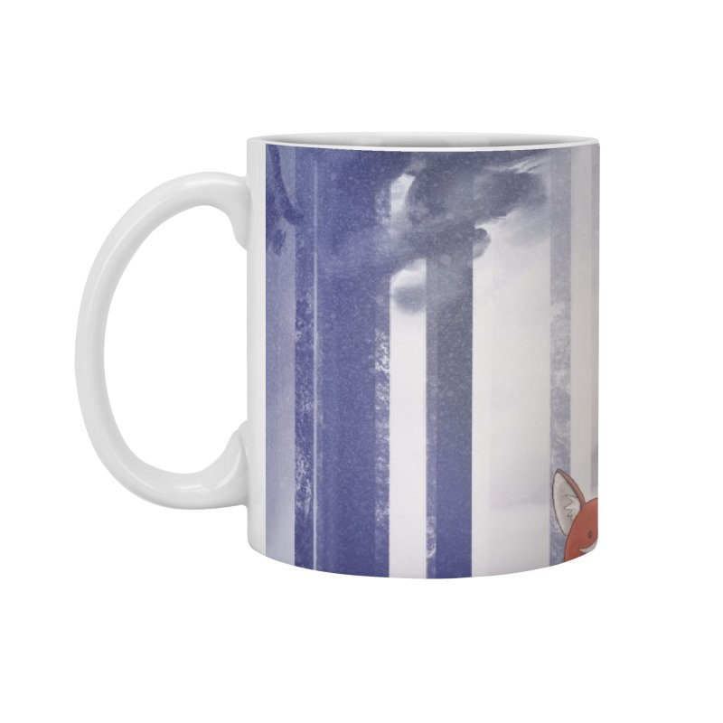 Winter Fox Accessories Standard Mug by Night Shift Comics Shop