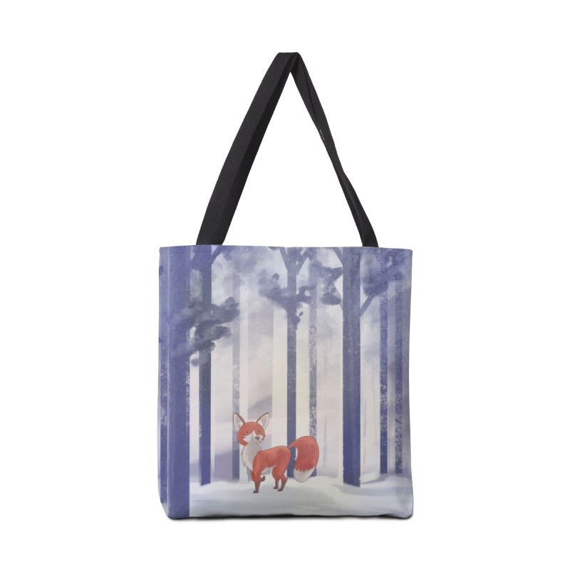 Winter Fox Accessories Tote Bag Bag by Night Shift Comics Shop