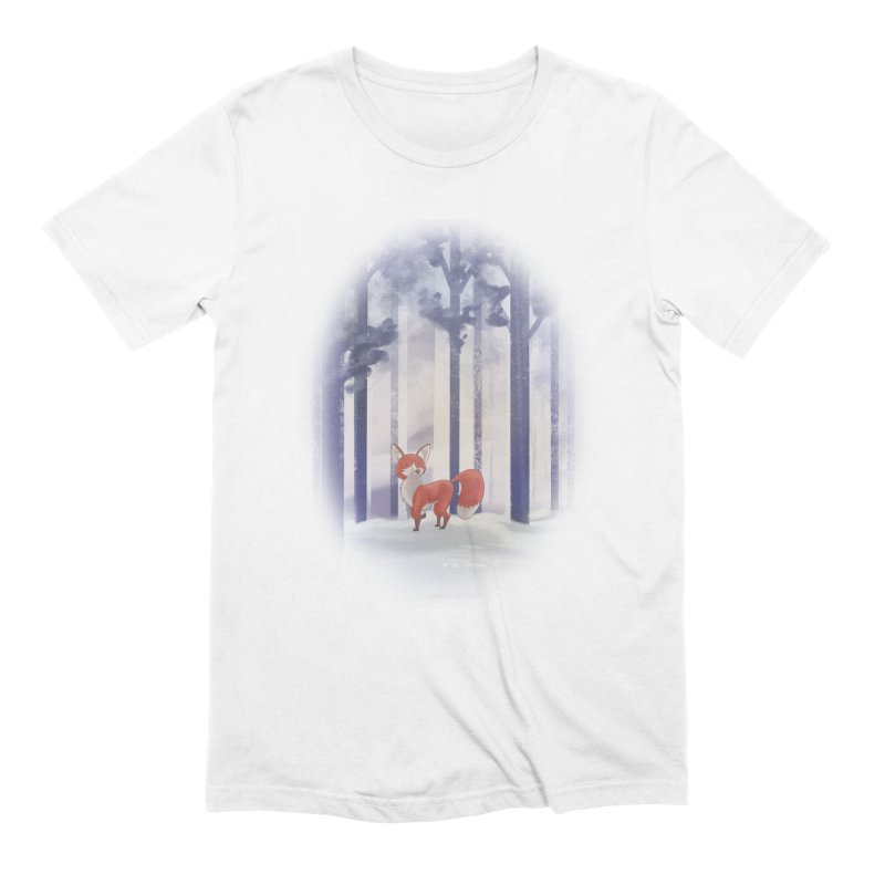 Winter Fox Men's Extra Soft T-Shirt by Night Shift Comics Shop