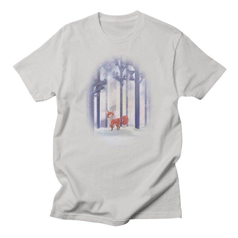 Winter Fox Men's T-Shirt by Night Shift Comics Shop