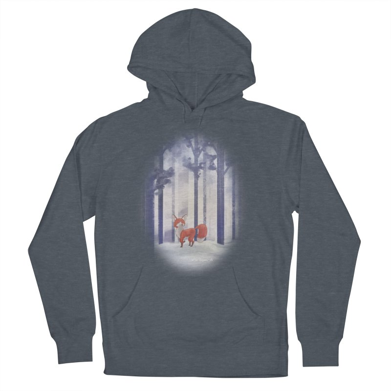 Winter Fox Women's French Terry Pullover Hoody by Night Shift Comics Shop