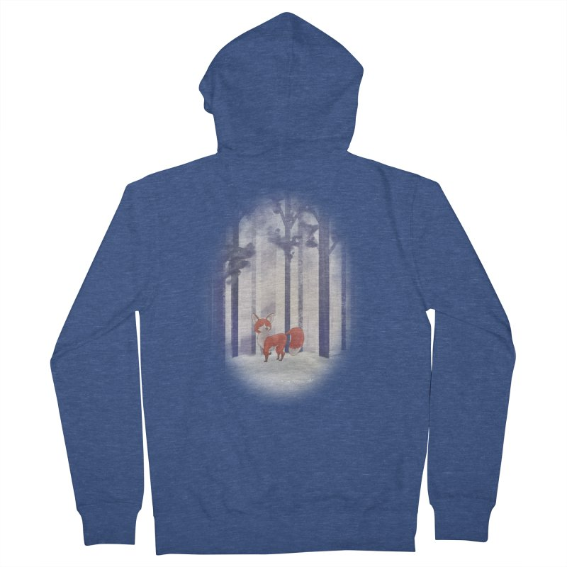 Winter Fox Men's Zip-Up Hoody by Night Shift Comics Shop