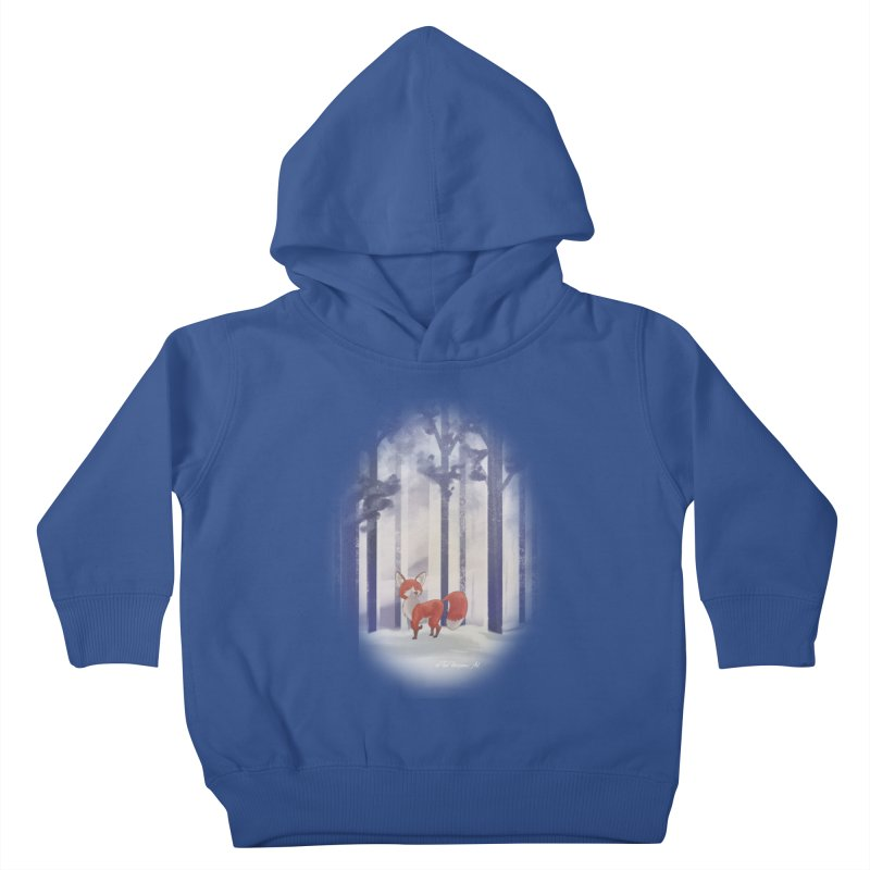 Winter Fox Kids Toddler Pullover Hoody by Night Shift Comics Shop