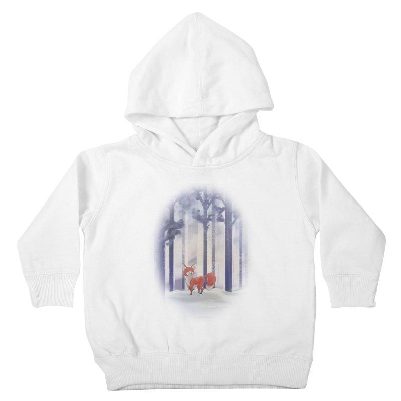 Winter Fox Kids Toddler Pullover Hoody by Night Shift Comics Shop