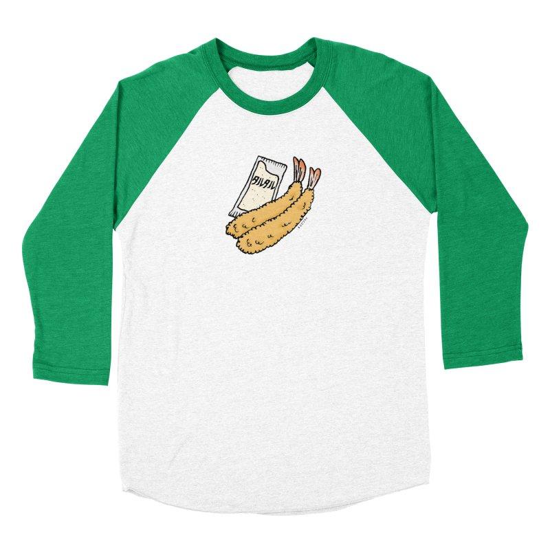 ebifurai Women's Baseball Triblend Longsleeve T-Shirt by Nihongo Flashcards Shop