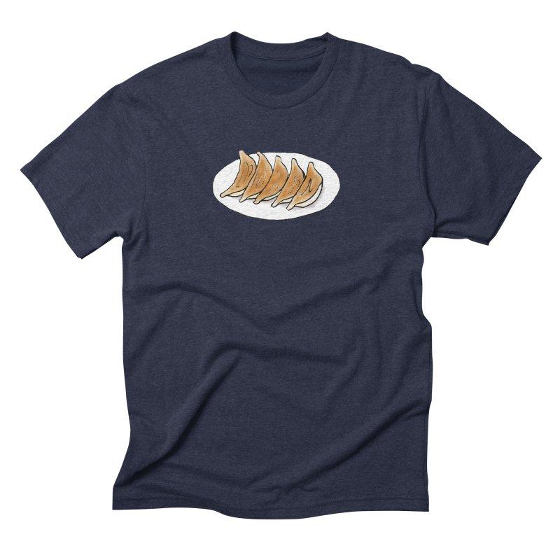 gyoza Men's Triblend T-Shirt by Nihongo Flashcards Shop