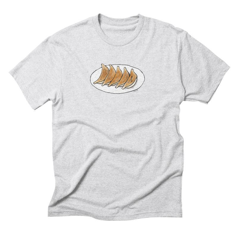 gyoza Men's Triblend T-Shirt by Nihongo Flashcards Shop