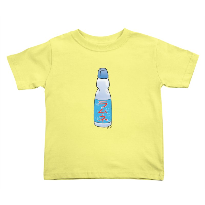 ramune in Kids Toddler T-Shirt Lemon by Nihongo Flashcards Shop
