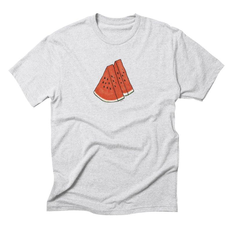 suika Men's Triblend T-Shirt by Nihongo Flashcards Shop