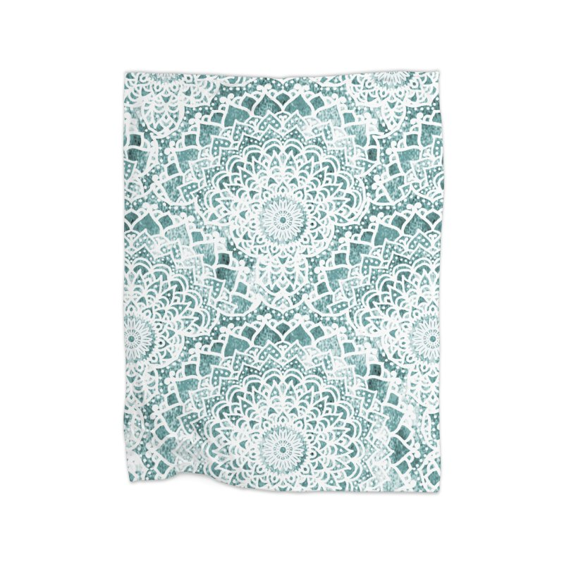 ACQUA FESTIVAL MANDALAS Home Blanket by nika's Artist Shop