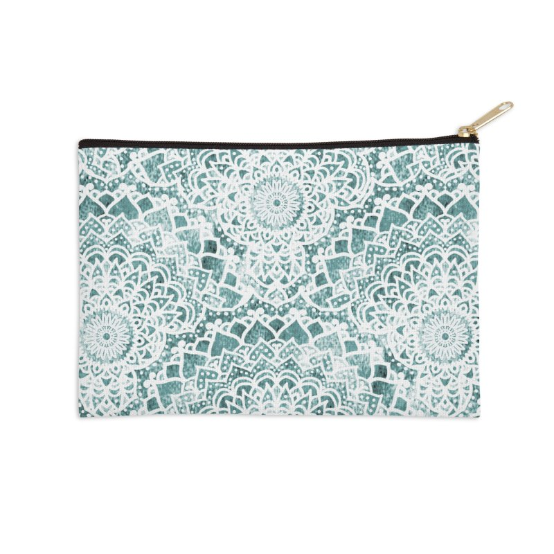 ACQUA FESTIVAL MANDALAS Accessories Zip Pouch by nika's Artist Shop