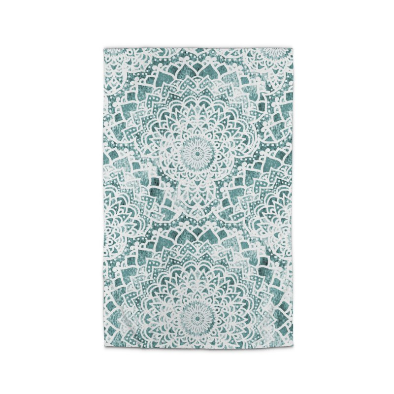 ACQUA FESTIVAL MANDALAS Home Rug by nika's Artist Shop