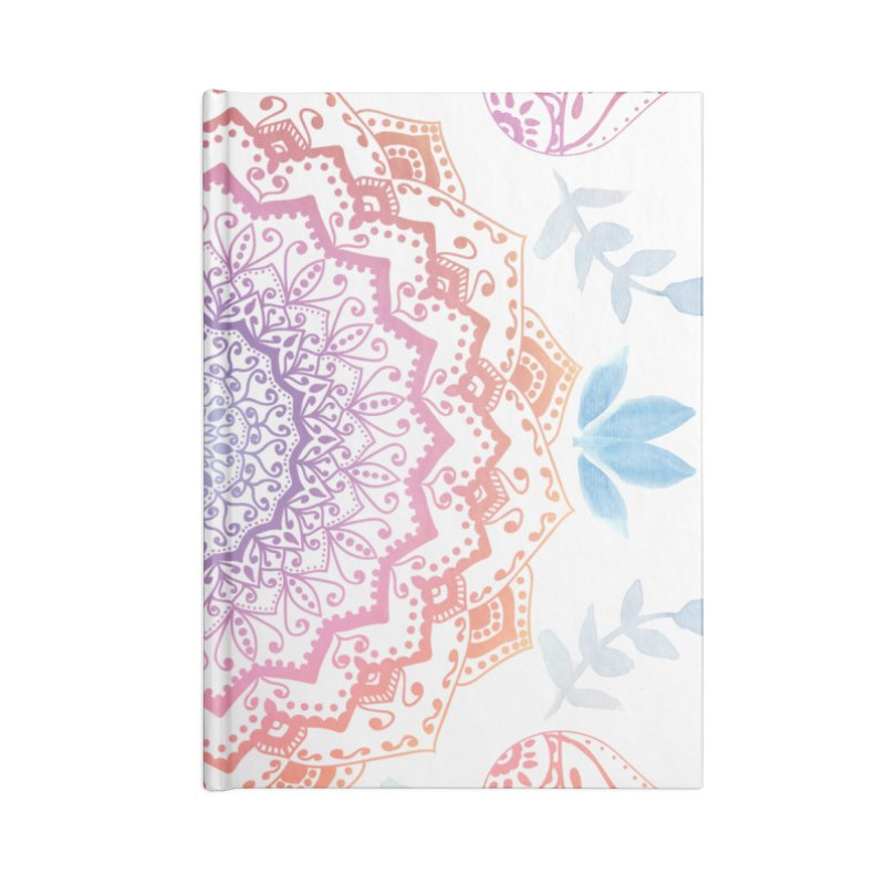 BOHO HAMSA MANDALA Accessories Notebook by nika's Artist Shop