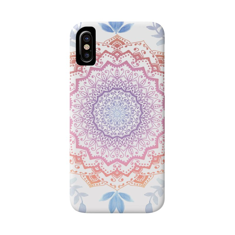 BOHO HAMSA MANDALA Accessories Phone Case by nika's Artist Shop