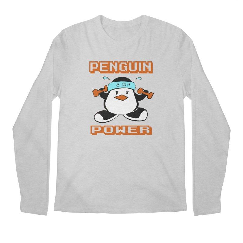EBA - Penguin Power Men's Longsleeve T-Shirt by NIKARNOLDI.art