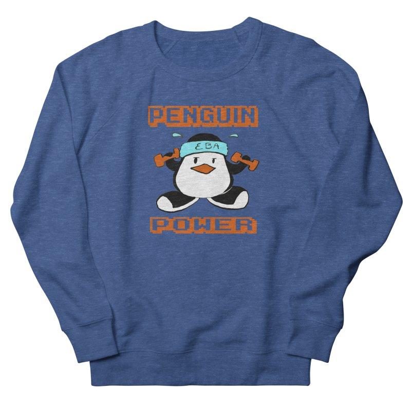 EBA - Penguin Power Men's Sweatshirt by NIKARNOLDI.art