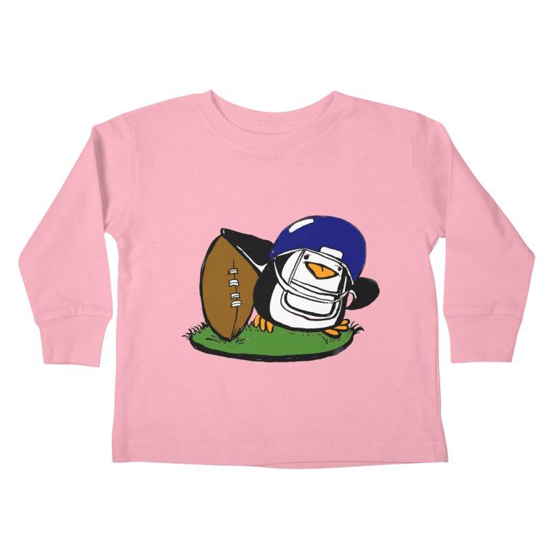 EBA - Game Day! Kids Toddler Longsleeve T-Shirt by NIKARNOLDI.art