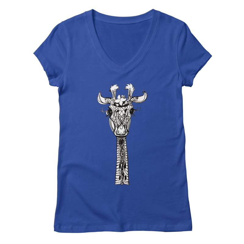 Head in the Clouds Women's V-Neck by NIKARNOLDI.art