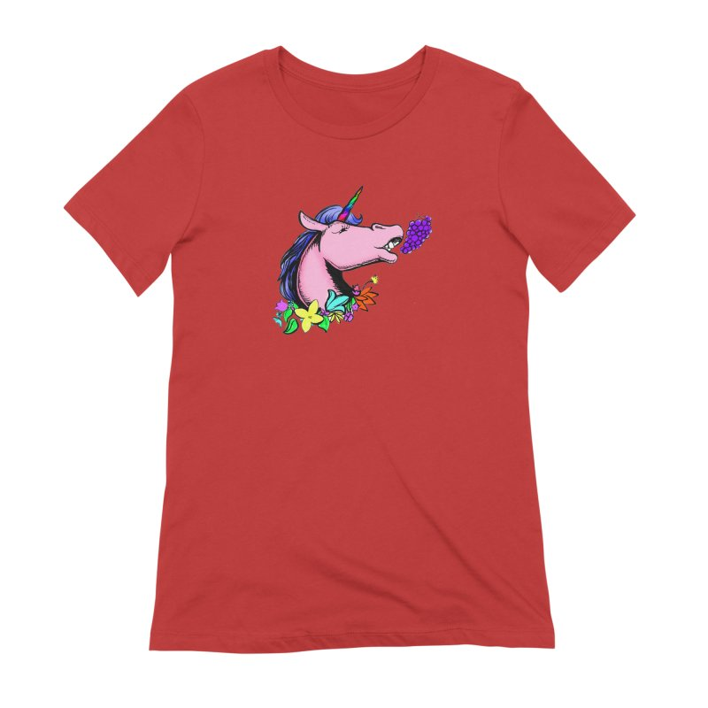 GRAPES! Women's T-Shirt by NIKARNOLDI