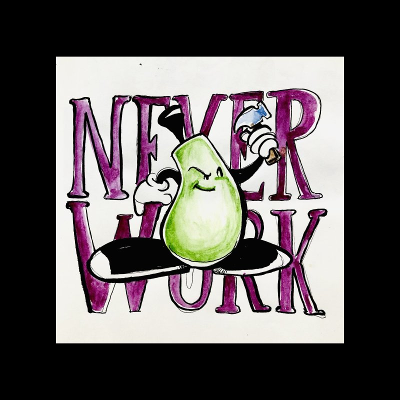 Neverwork Kids Toddler T-Shirt by NIKARNOLDI