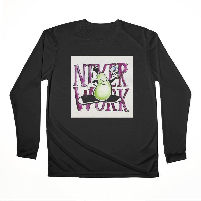 Neverwork Women's Longsleeve T-Shirt by NIKARNOLDI