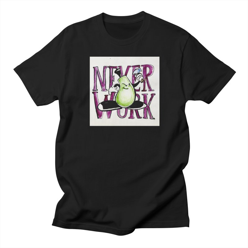 Neverwork Men's T-Shirt by NIKARNOLDI
