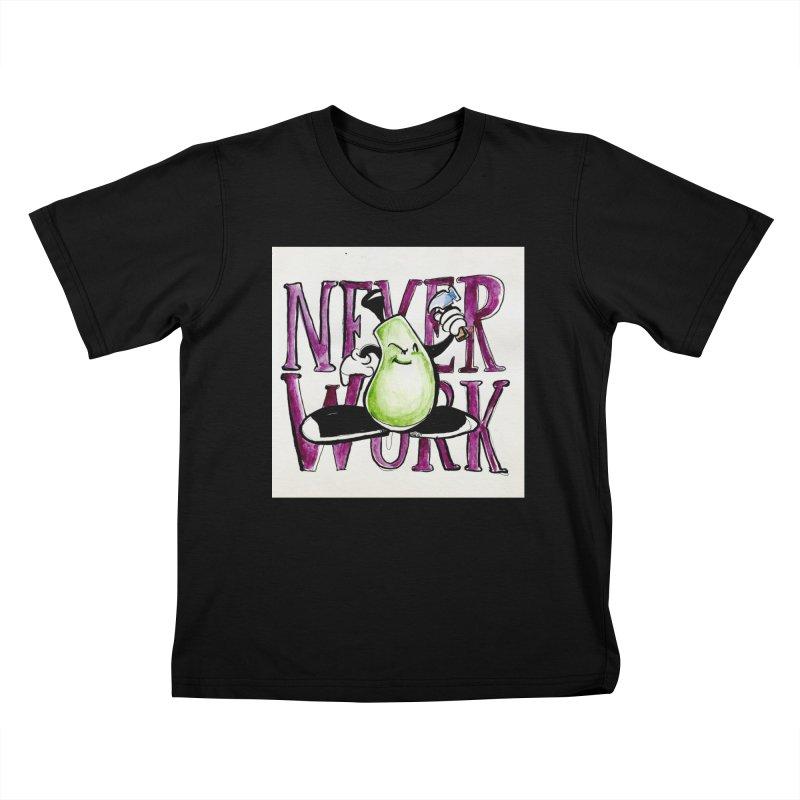Neverwork Kids T-Shirt by NIKARNOLDI