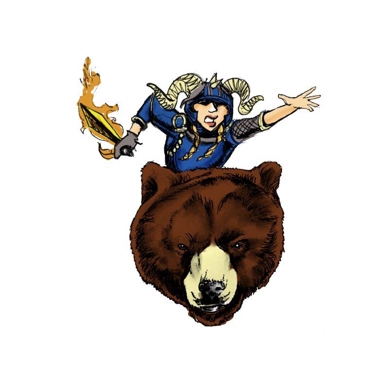 Bear Warrior by NIKARNOLDI.art