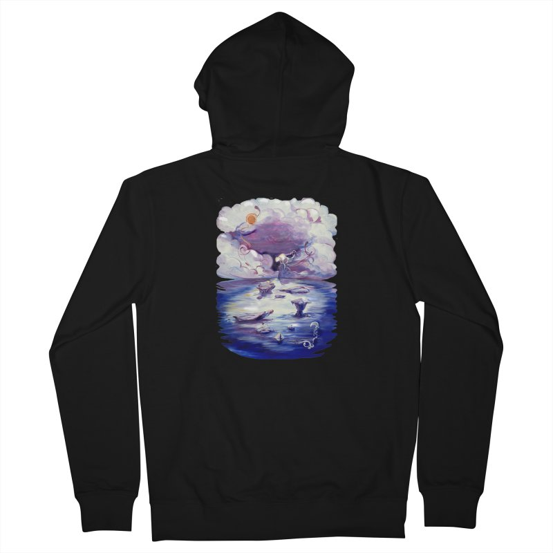 Polar Men's Zip-Up Hoody by NIKARNOLDI.art