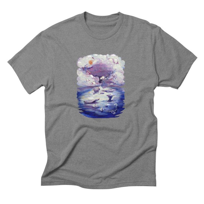 Polar Men's Triblend T-Shirt by NIKARNOLDI.art