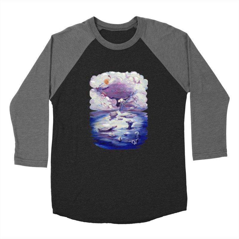 Polar Women's Baseball Triblend T-Shirt by NIKARNOLDI.art