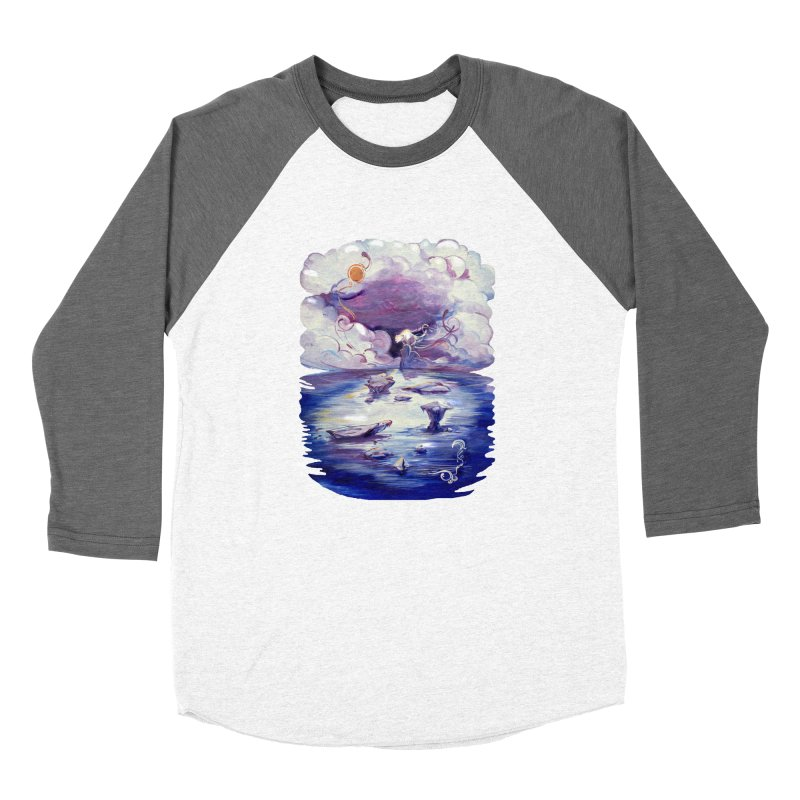Polar Men's Baseball Triblend T-Shirt by NIKARNOLDI.art