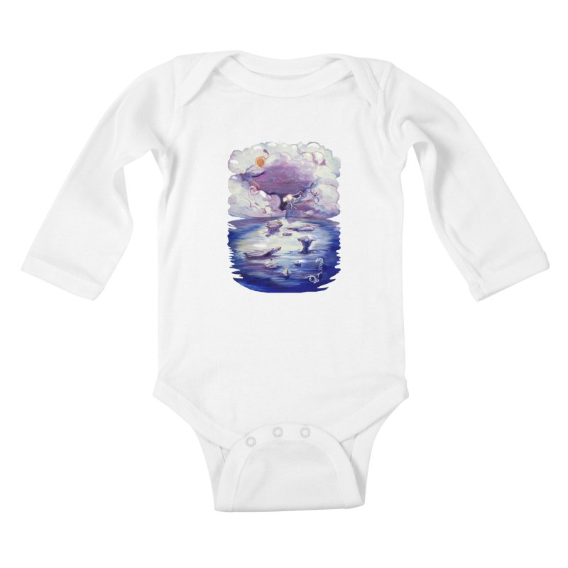 Polar Kids Baby Longsleeve Bodysuit by NIKARNOLDI.art
