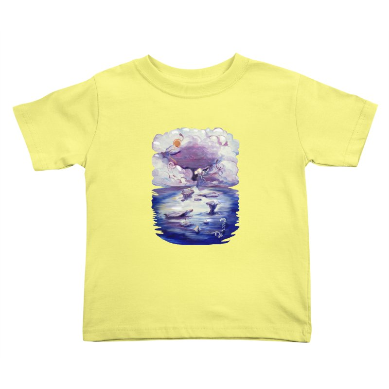 Polar Kids Toddler T-Shirt by NIKARNOLDI.art