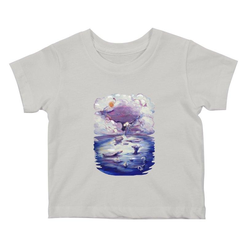 Polar Kids Baby T-Shirt by NIKARNOLDI.art