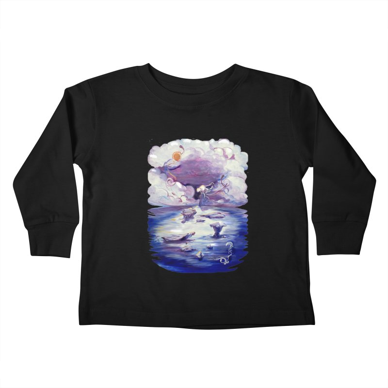 Polar Kids Toddler Longsleeve T-Shirt by NIKARNOLDI.art