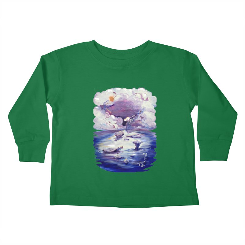 Polar Kids Toddler Longsleeve T-Shirt by NIKARNOLDI.art