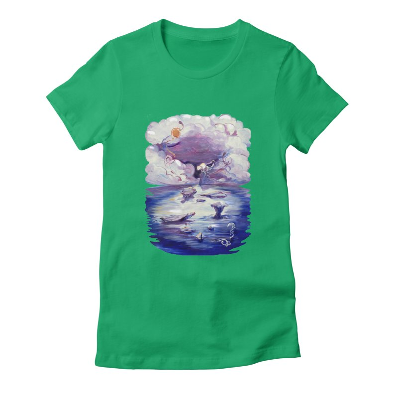 Polar Women's Fitted T-Shirt by NIKARNOLDI.art